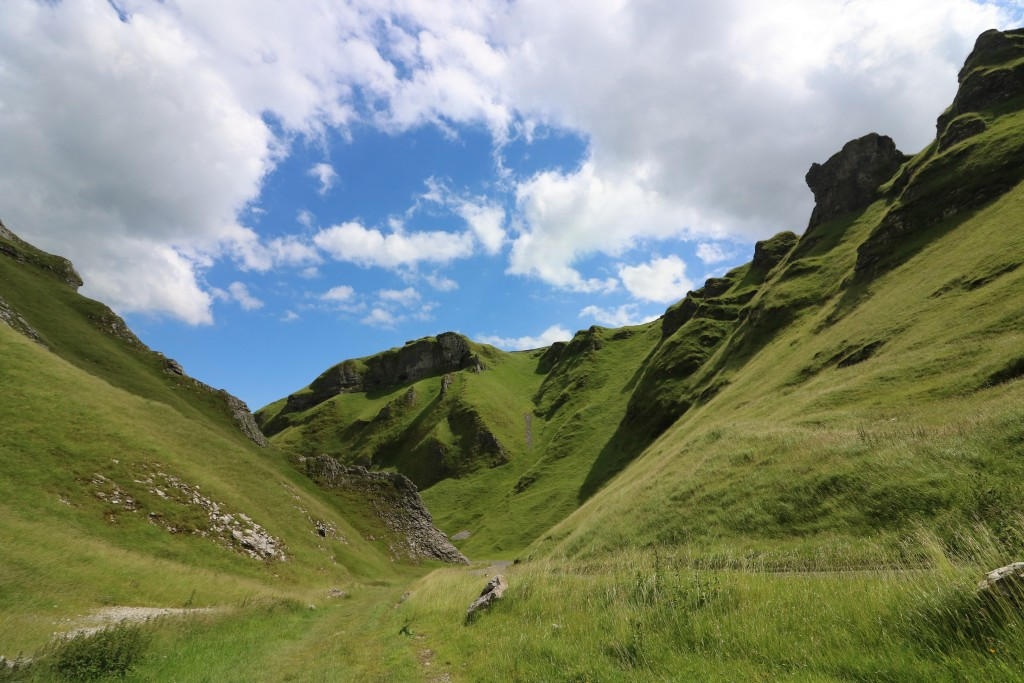 The absolutely stunning Winnats Pass