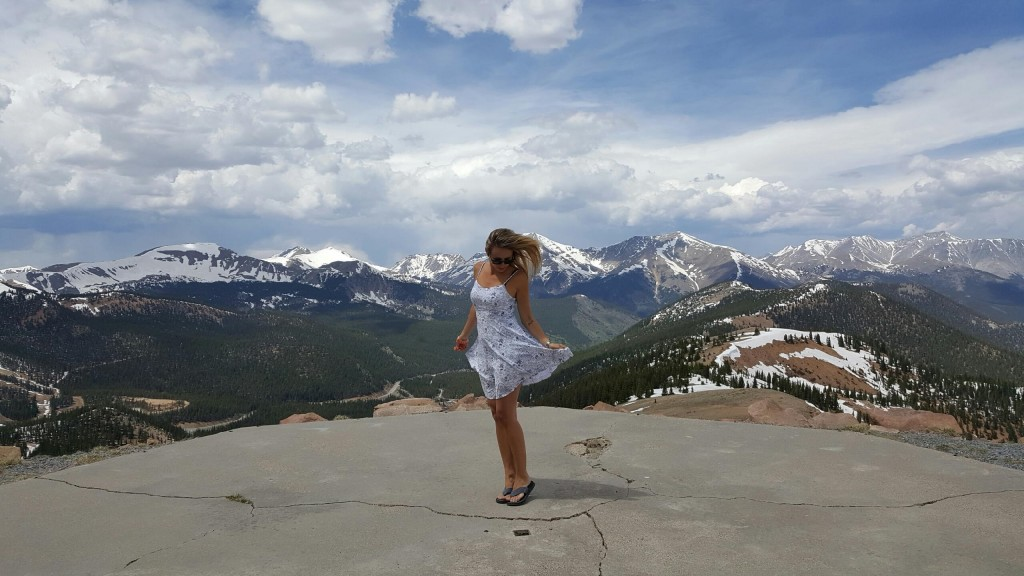Alyana at Monarch Pass, Colorado