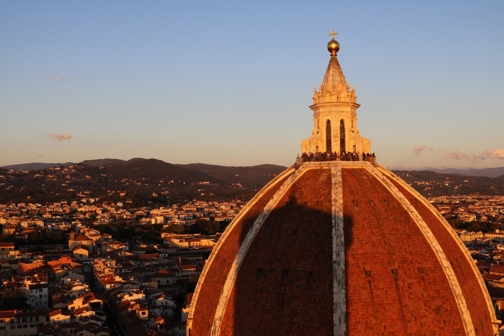 The scale of Brunelleschi's dome cannot be captured by words nor photograph - it simply has to be seen