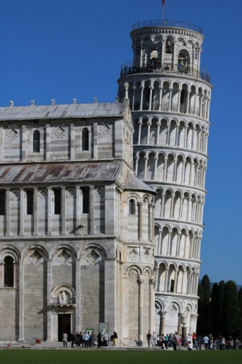The Leaning Tower lived up to its reputation
