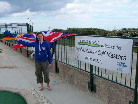 Emily Gottfried - WMF World Adventure Golf Masters - Women's Champion 140511