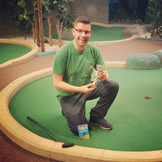 Richard Gottfried - Paradise Island Adventure Golf Open Champion 2018
